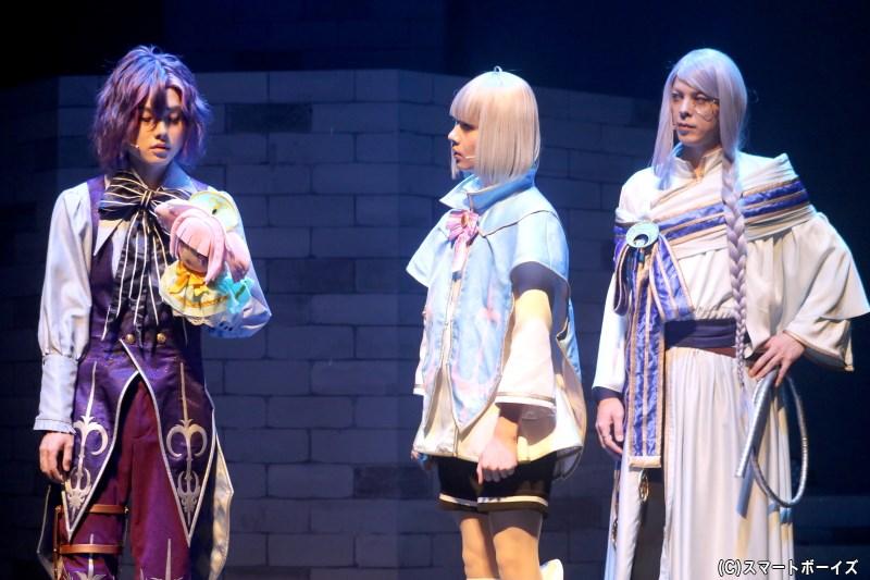 皇子として、リュゼとメアがそれぞれに成長をみせる場面も