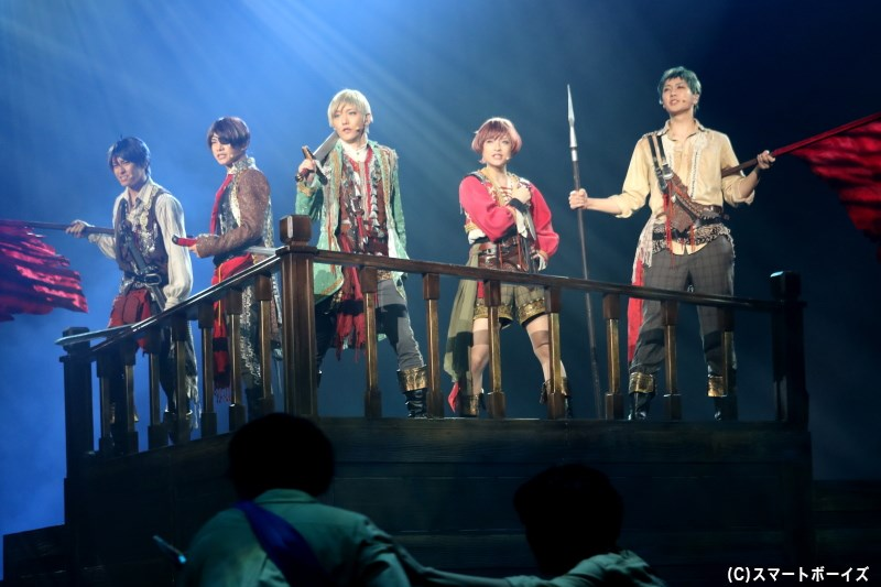 単独レビュー公演を経て、team柊の『Caribbean Groove』がミュージカル公演に!