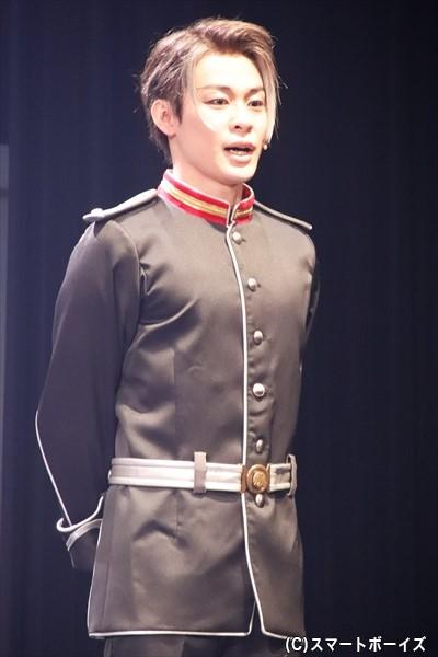パウル・フォン・オーベルシュタイン役:藤原祐規さん