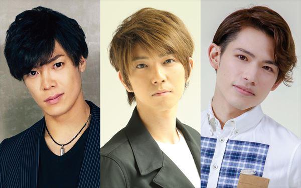 左から)鷹松宏一さん、安里勇哉さん(TOKYO流星群)、百名ヒロキさん