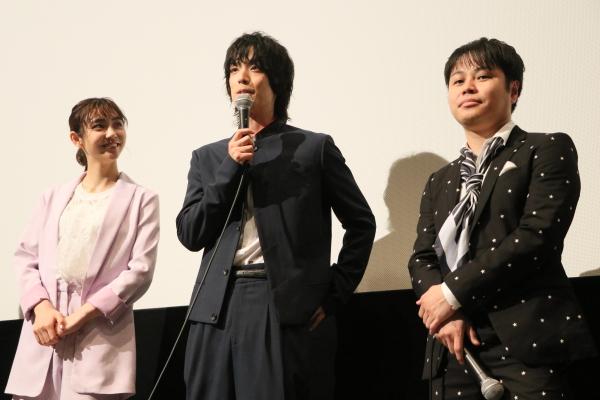 主演の井上さんを、黒羽さんはシッカリ持ち上げるトークを披露