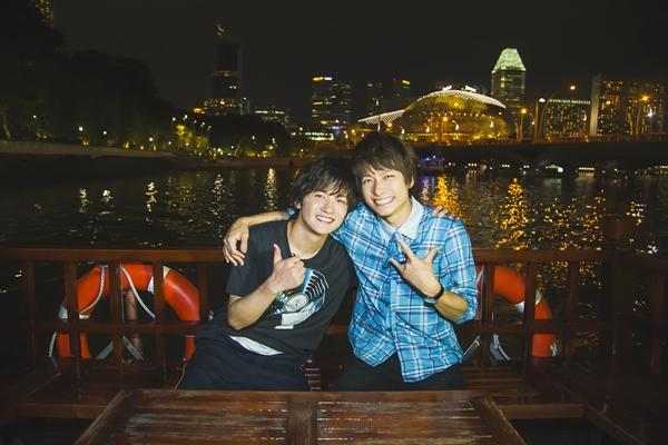 「俺旅。シーズン6 シンガポール編」 小澤廉&小西成弥 サンプルカット ②