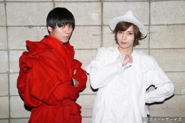 (右)染谷俊之さん、(左)井澤勇貴さん