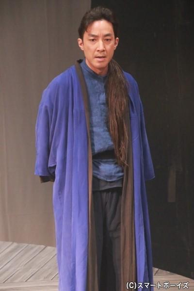 大海人皇子(おおあまのおうじ)役の加山徹さん