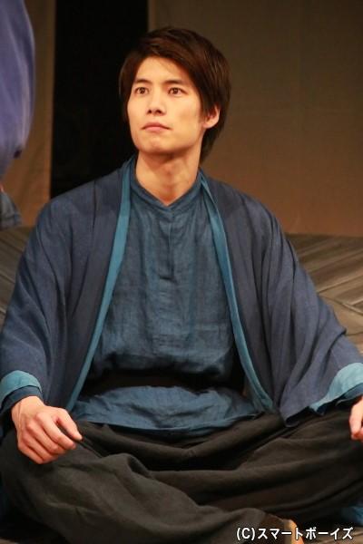 高市皇子(たけちのみこ)役の田中宏宜さん