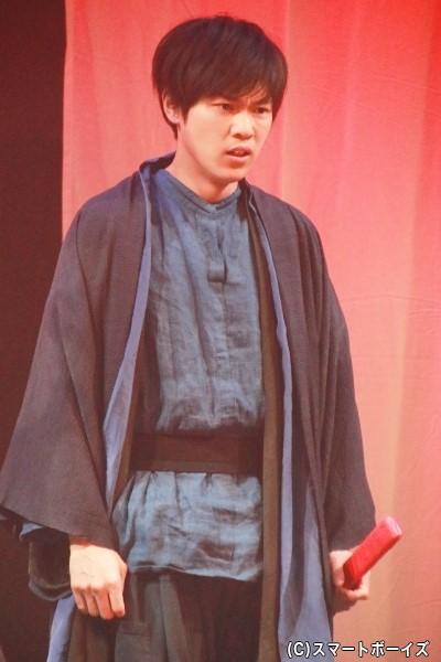 草壁皇子(くさかべのみこ)役の西野太盛さん