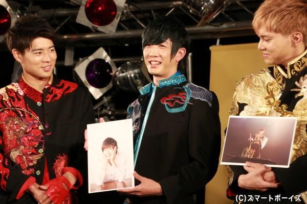田村さんのお気に入りは、ドーム公演とは関係なく、小顔に見えてカワイイという理由でセレクトしたショット