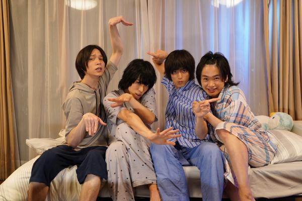北村さんも、すでに三兄弟ワールドにどっぷり?(笑)
