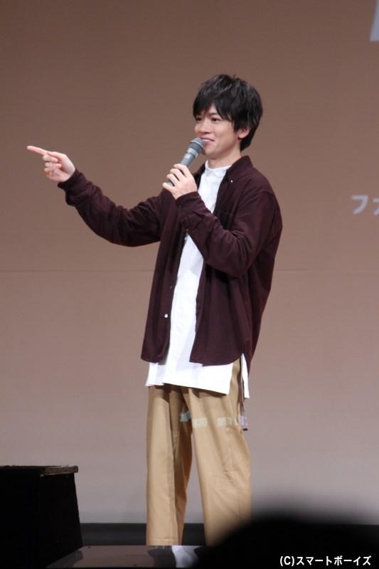 スマボMovieでの初共演後、共演が立て続いている小西成弥さん