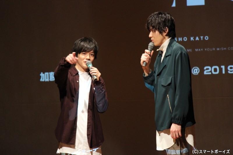 将さんと成弥さんが初めましてから仲良くなっていく様子は、スマボMovie「regret~放課後の罠~」DVDのメイキング映像で楽しめます♪