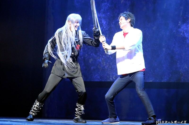 スクアーロ(左)と山本 武(右)の対決、そしてリング争奪戦の行方はいかに……