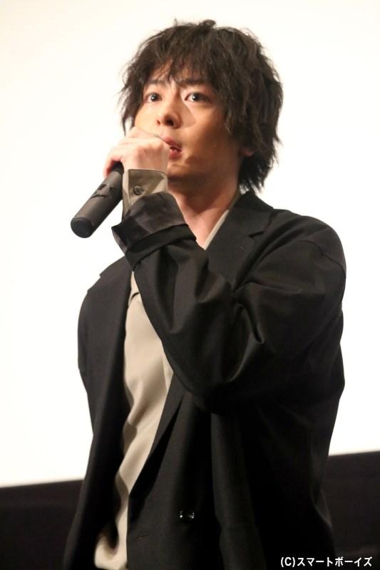 青山凛ノ介(あおやまりんのすけ)役の犬飼貴丈(いぬかいあつひろ)さん