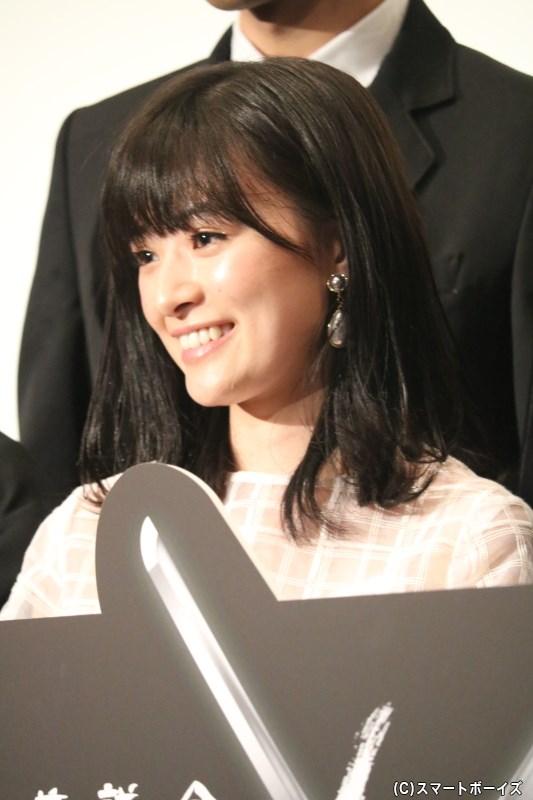 神谷八重(かみややえ)役の優希美青(ゆうきみお)さん
