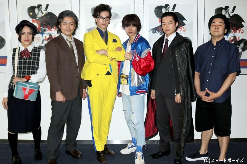 (左から)小玉久仁子さん、井俣太良さん、伊万里 有さん、太田将熙さん、山﨑雅志さん、米山和仁さん