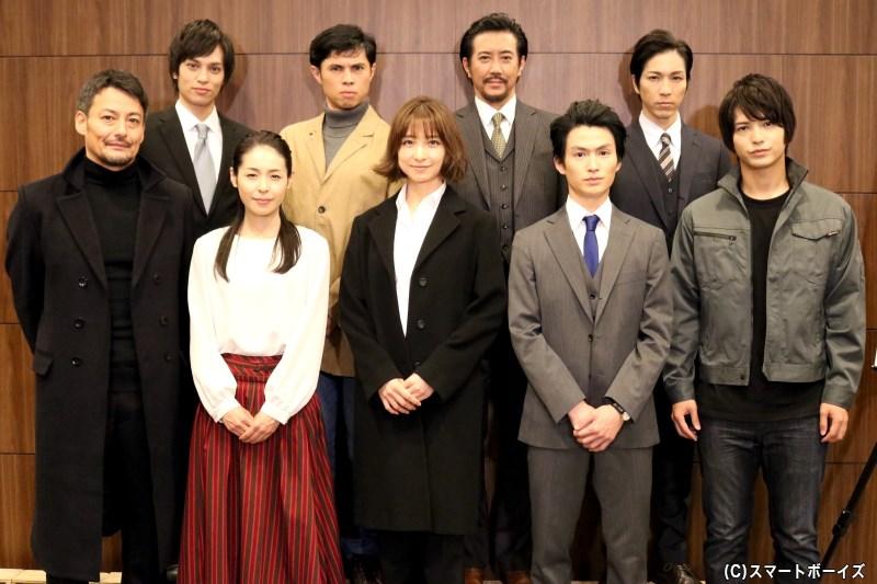 篠田麻里子さん演じる、刑事 雪平夏見が再び舞台へ! 待望の第2弾が開幕