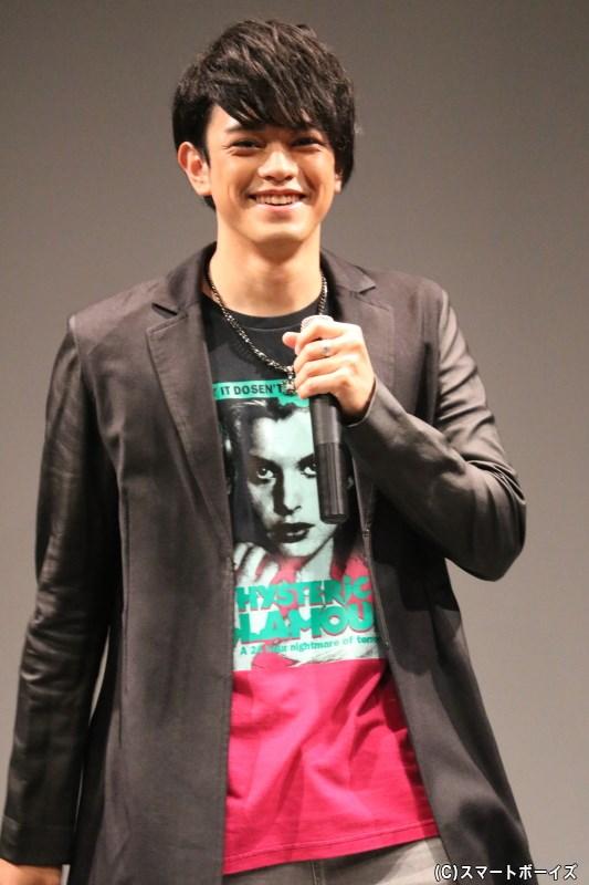 イベントの主役! 5月27日に24歳のバースデーを迎えた前田隆太朗さん