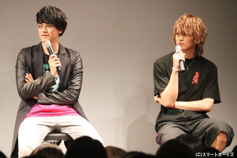吉澤さんとのトークでは、お互いの素顔をよく知る関係だからこその暴露も!?