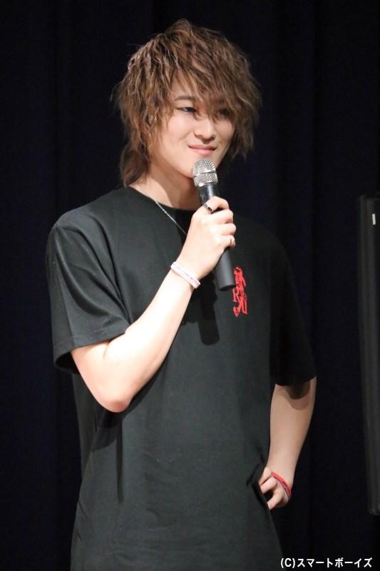 前田さんとの掛け合いで、トーク&ゲームコーナーを盛り上げてくれた吉澤さん