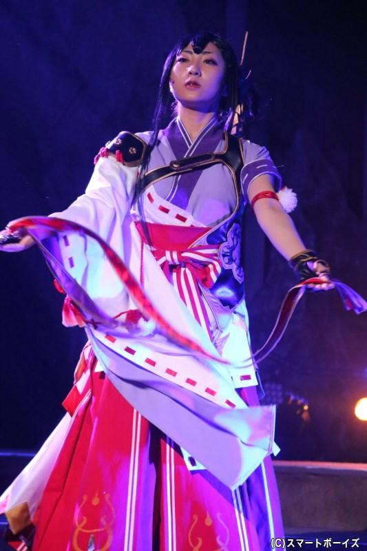 チハヤ役の石川志織さん
