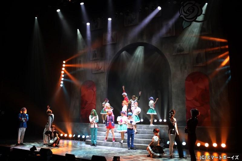 「世界を革命する力」を巡る、決闘ゲームが再び! 多くの新キャストを迎え、ミュージカル「少女革命ウテナ」第2弾が開幕