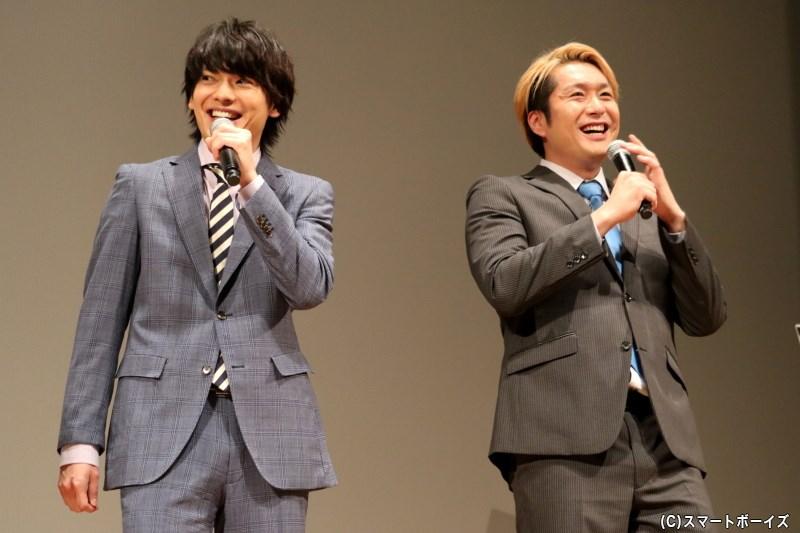 """""""東良と南郷がケンカをしたら""""という話題に、「勝てるわけない!(笑)」と崎山さん"""