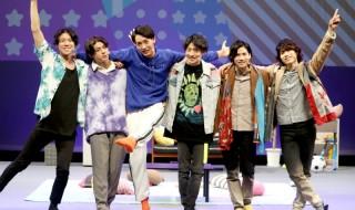 (左から)日替わりBOYS・伊勢大貴さん、宇佐卓真さん、谷 佳樹さん、近藤頌利さん、二葉 要さん、二葉 勇さん