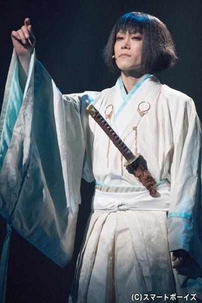 羽柴秀吉の病弱な養子・秀勝(玉城裕規さん)