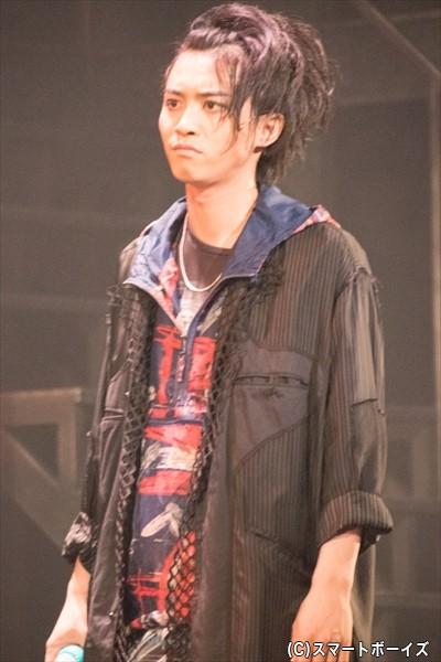 マキューシオ(田淵累生さん)は、熱くて正義感が強い男