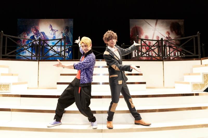 田口涼さん(右)と田内季宇さん