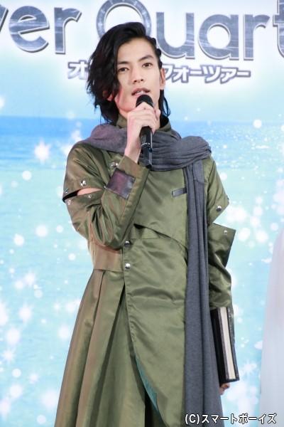 ウォズ/仮面ライダーウォズ役の渡邊圭祐さん