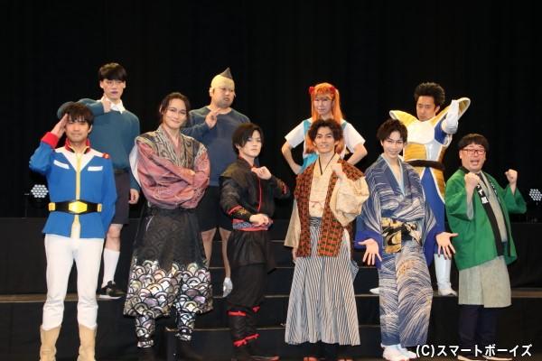 俳優と芸人によるコラボ舞台第3弾が開幕!