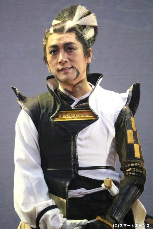 松永久秀役の松田賢二さん