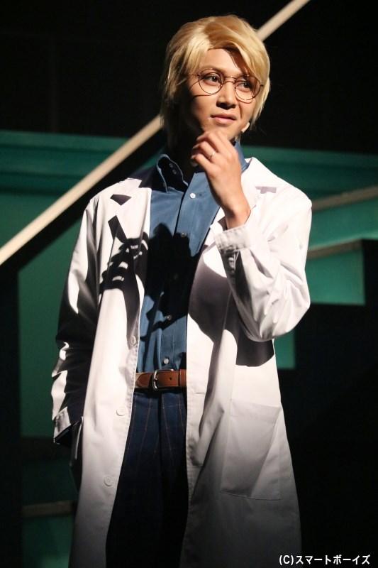 一也の兄で、緑都学園保健医の蓮川一弘(山田ジェームス武さん)