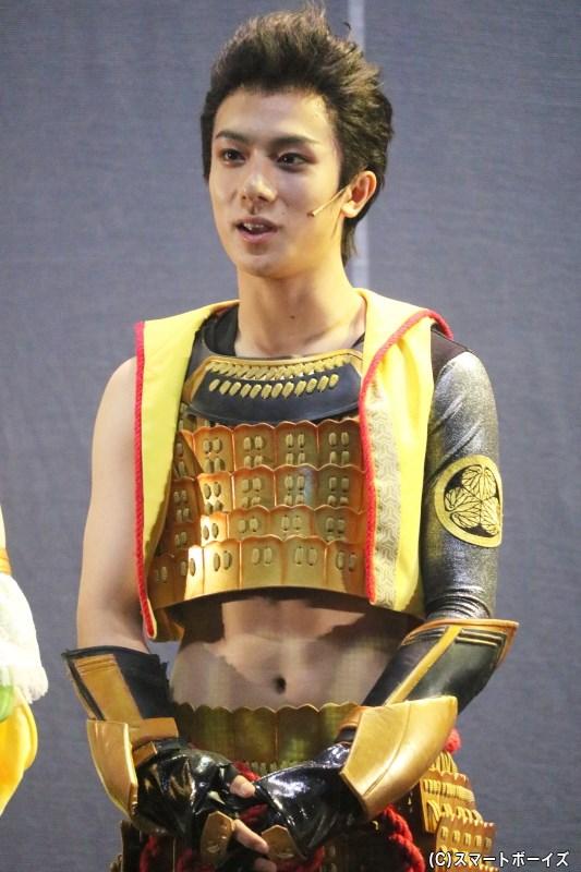徳川家康役の永田聖一朗さん