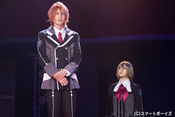 生徒会の青空颯斗(高本学さん)を始め、ヒロインに背中を押され成長するキャラクターたち