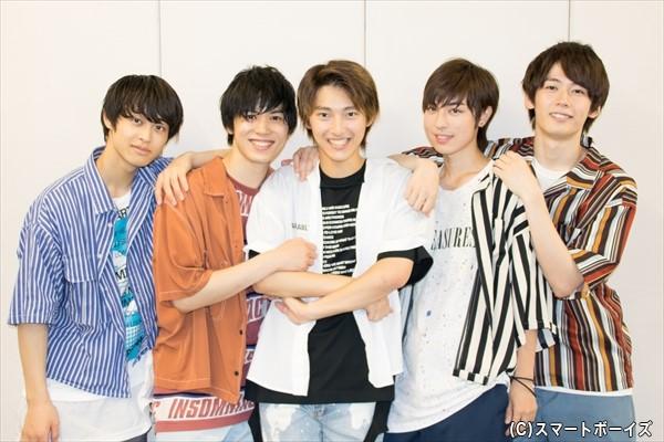 (左より)澤田優さん、宮内伊織さん、木原瑠生さん、矢代卓也さん、織部典成さん