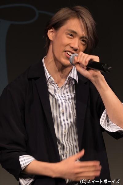 前川優希さん(香り:ハーバルノート)