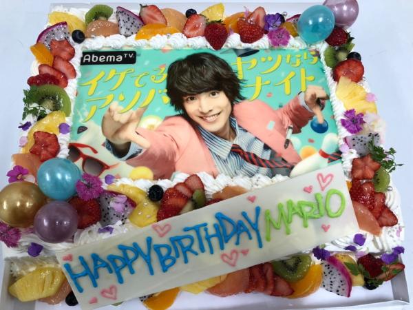 7月6日はAbemaTVを見て、お誕生日を一緒にお祝い!