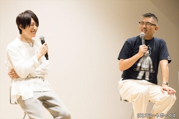 鈴木さんと豊島監督が、撮影当時の思い出トークに花を咲かせました!