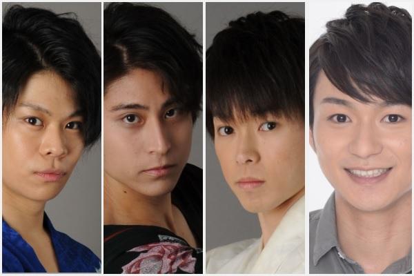 記念すべき第1回放送に出演するのはこの4人! (左から)柳原凛さん、堀越拓也さん、佐藤智広さん、山木透さん