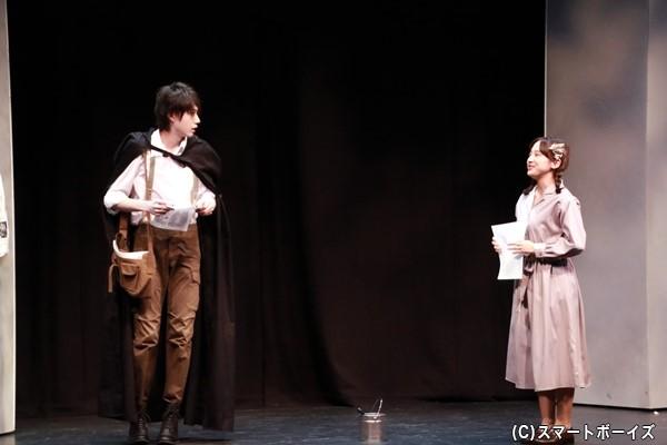 ロンドンの街で出会った少女オリヴィアと青年ノア