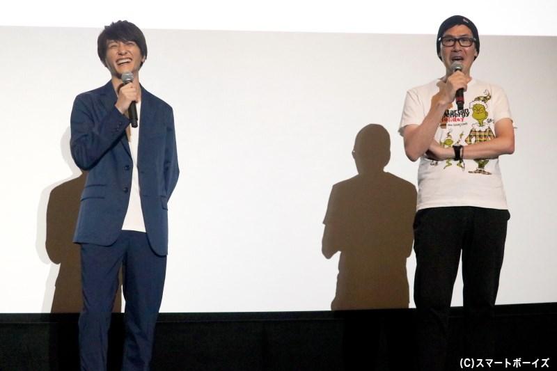 まるで鈴木さんの大ファン!? 熱いトークを繰り広げたアサダアツシさん