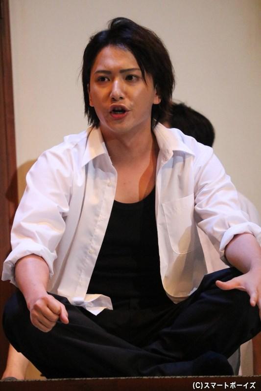 ヤスシ(高校生)役の秋葉友佑さん