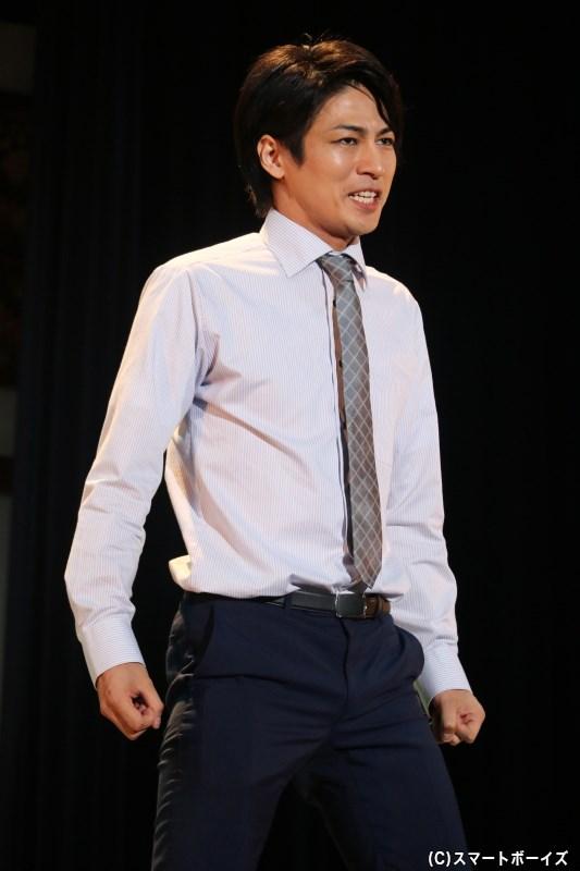 なおき(大人)役の丸山敦史さん