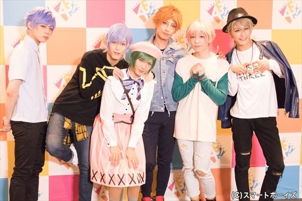 (左より)宇佐卓真さん、本田礼生さん、宮崎湧さん、陳内将さん、野口準さん、赤澤燈さん