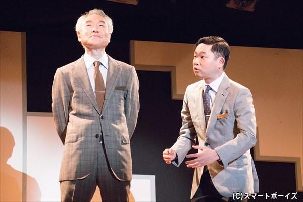 小木曽は、部長の中曽根から、次期部長にと打診を受ける