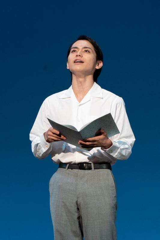 花形新派の記念公演に大抜擢された竹中凌平さん