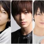 (左から)林剛史さん、遊馬晃祐さん、田中尚輝さんがそろって生放送!