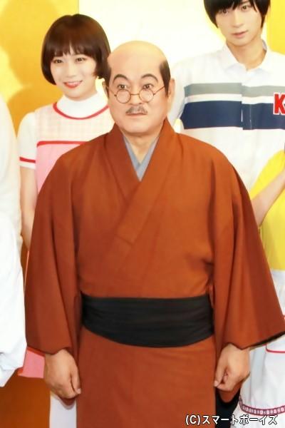 磯野波平役の松平健さん