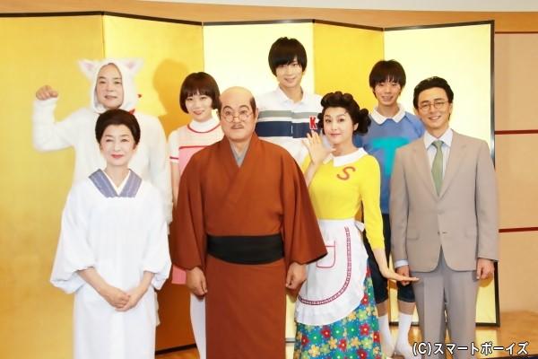 国民的アニメ「サザエさん」が舞台化!豪華キャストが登壇!
